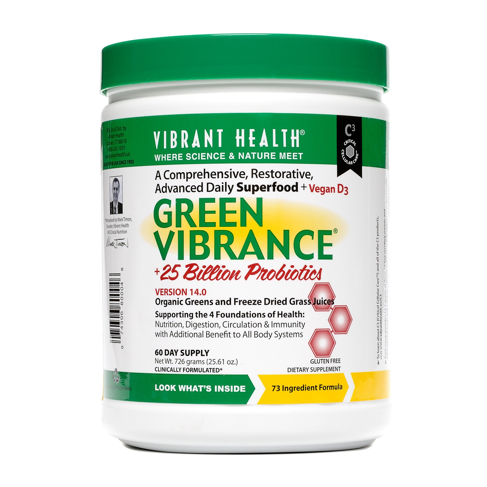 Green Vibrance (Choose Size) - Royalty Health