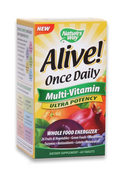 Alive Once Daily Multivitamin (60ct)