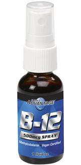 Vitamin B-12 Spray (1 oz)