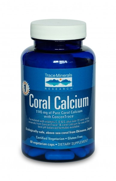 Coral Calcium with ConcenTrace (60 ct)