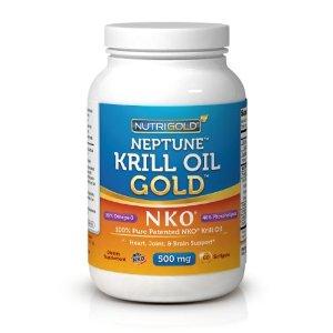 Krill oil acne