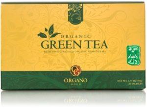 Organo Gold Organic Green Tea (25 sachets per box)
