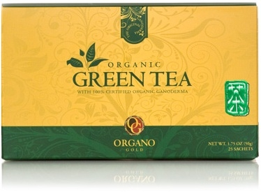 Organo Gold Organic Green Tea (25 sachets per box)