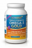 Triple Strength Omega-3 Gold (180 softgels)