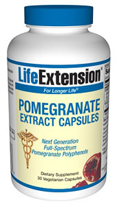 Pomegranate Extract Capsules (30 ct)
