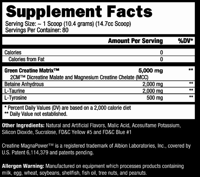 Green-Magnitude-Supplement-facts